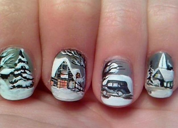 25 Fun Winter Nail Design Ideas 14