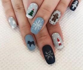 25 Fun Winter Nail Design Ideas 15