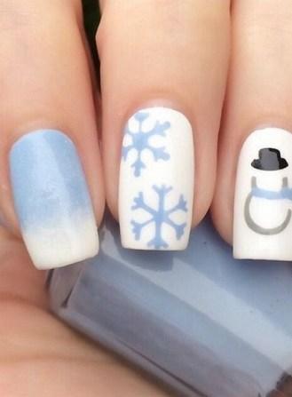 25 Fun Winter Nail Design Ideas 28