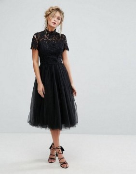 40 Simple Glam Black Tulle Skirt Outfits Ideas 44