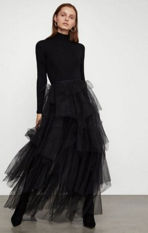 40 Simple Glam Black Tulle Skirt Outfits Ideas 7