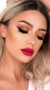 49 Ideas Glam Valentines Night Makeup Look 1
