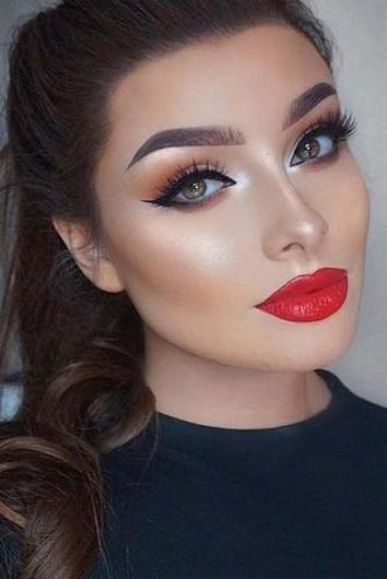 49 Ideas Glam Valentines Night Makeup Look 13