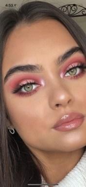 49 Ideas Glam Valentines Night Makeup Look 17