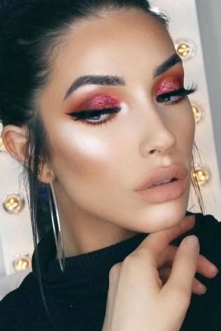 49 Ideas Glam Valentines Night Makeup Look 18