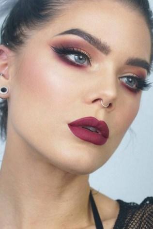 49 Ideas Glam Valentines Night Makeup Look 20
