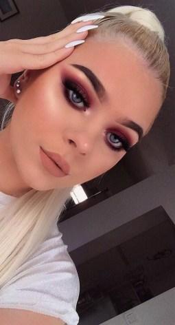 49 Ideas Glam Valentines Night Makeup Look 32