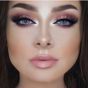 49 Ideas Glam Valentines Night Makeup Look 4