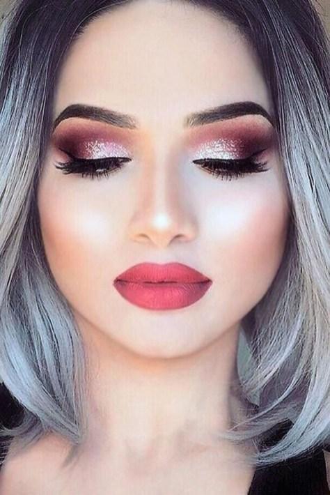 49 Ideas Glam Valentines Night Makeup Look 45