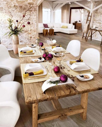 50 How to Arrange a Dining Table for Christmas Occasion 16