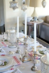 50 How to Arrange a Dining Table for Christmas Occasion 45