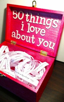 50 Inspiring Romantic DIY Valentines Gift Ideas 27