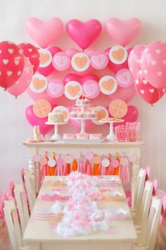 50 Romantic Valentines Party Decoration You Need to See 5
