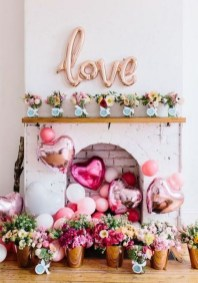 50 Romantic Valentines Party Decoration You Need to See 54