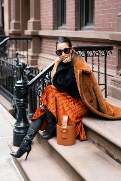 50 Stylish and Comfy Winter Dresses Ideas 12
