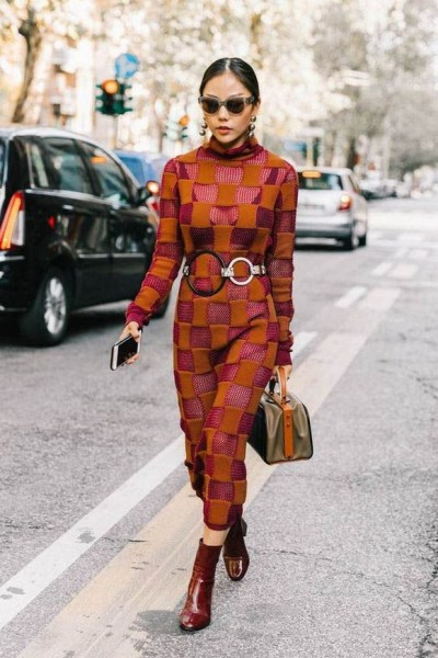 50 Stylish and Comfy Winter Dresses Ideas 24