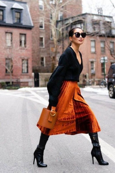 50 Stylish and Comfy Winter Dresses Ideas 3