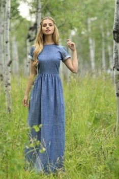 55 Casual Denim Dresses for Outing Ideas 14