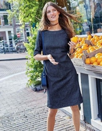 55 Casual Denim Dresses for Outing Ideas 31