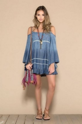 55 Casual Denim Dresses for Outing Ideas 33
