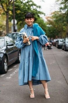 55 Casual Denim Dresses for Outing Ideas 36