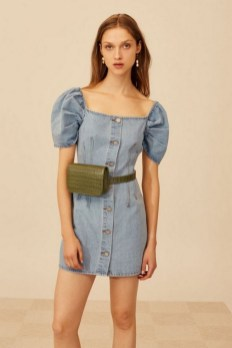 55 Casual Denim Dresses for Outing Ideas 47