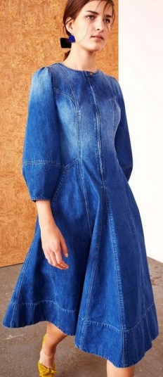 55 Casual Denim Dresses for Outing Ideas 7