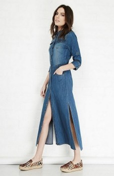 55 Casual Denim Dresses for Outing Ideas 8