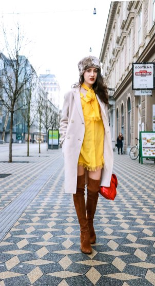 60 Adorable Yellow Outfit for Winter 20