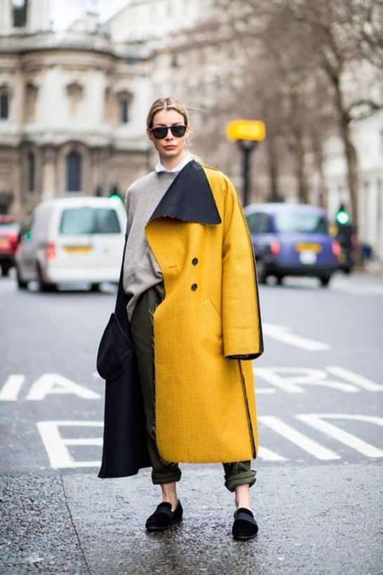 60 Adorable Yellow Outfit for Winter 44
