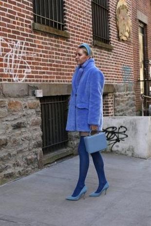 80 Fashionable Women Faux Fur Coats Look 46