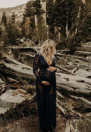 80 Outdoor Maternity Photoshoot Ideas 5