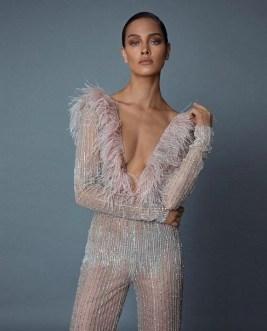 80 Simple and Glam Jumpsuit Wedding Dresses Ideas 25
