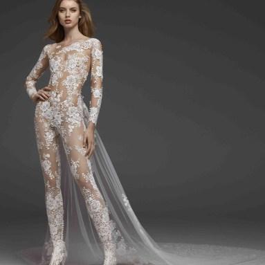 80 Simple and Glam Jumpsuit Wedding Dresses Ideas 37
