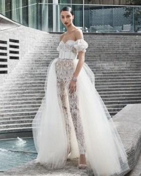 80 Simple and Glam Jumpsuit Wedding Dresses Ideas 61