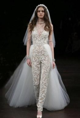 80 Simple and Glam Jumpsuit Wedding Dresses Ideas 66