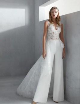 80 Simple and Glam Jumpsuit Wedding Dresses Ideas 85