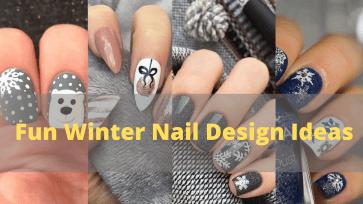 Fun Winter Nail Design Ideas