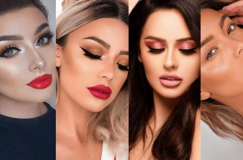 Glam Valentines Night Makeup Look Ideas
