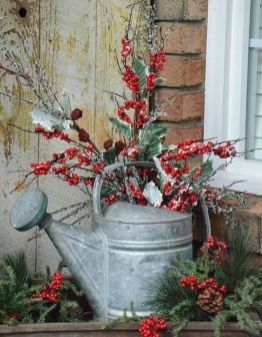 How Stunning Rustic Christmas Decorations Ideas 01