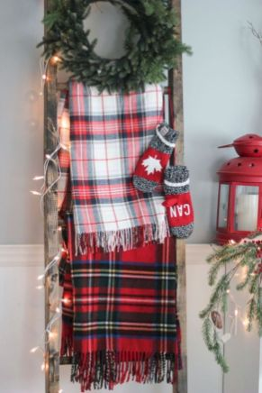 How Stunning Rustic Christmas Decorations Ideas 07