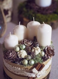 How Stunning Rustic Christmas Decorations Ideas 11