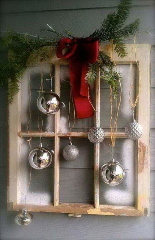 How Stunning Rustic Christmas Decorations Ideas 30