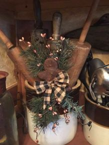 How Stunning Rustic Christmas Decorations Ideas 34