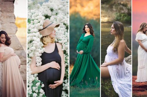 Outdoor Maternity Photoshoot Ideas
