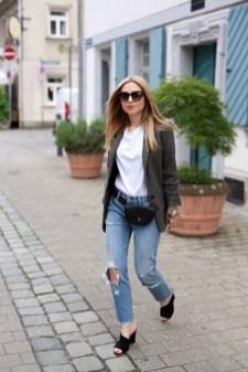 40 How to Wear Waist Bags Ideas 12