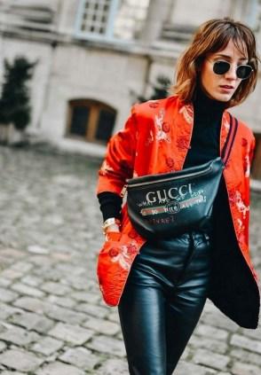 40 How to Wear Waist Bags Ideas 15