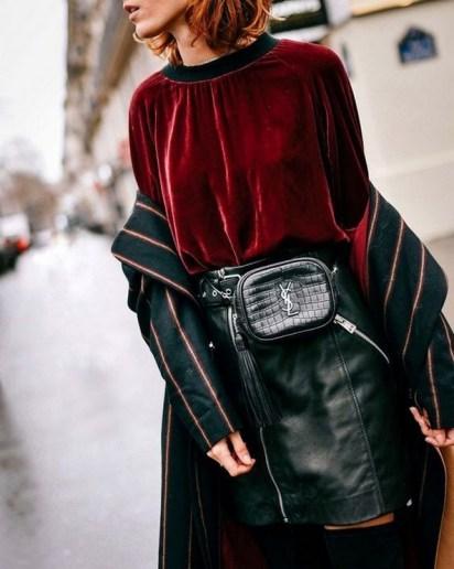 40 How to Wear Waist Bags Ideas 31
