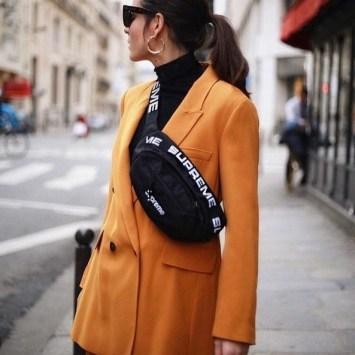 40 How to Wear Waist Bags Ideas 38