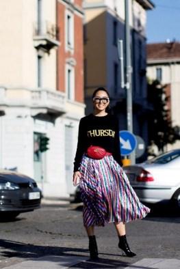 40 How to Wear Waist Bags Ideas 46